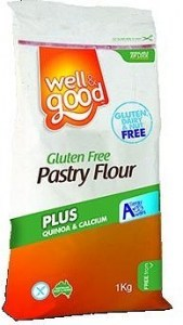 Well And Good Pastry Flour + Quinoa & Calcium 1Kg