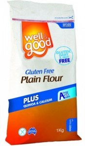 Well And Good Plain Flour + Quinoa & Calcium 1Kg