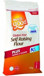 Well And Good Self Raising Flour + Quinoa & Calcium 1Kg