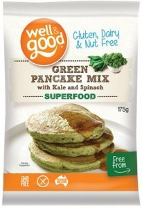 Well And Good Green Pancake Mix with Kale & Spinach  175g