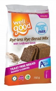 Well And Good Rye-less Rye Bread Mix  750g