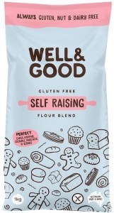 Well And Good Self Raising Flour Blend 1Kg