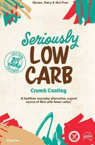 Well And Good Seriously Low-Carb Crumb Coating 300g