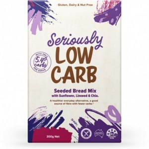 Well And Good Seriously Low Carb Seeded Bread Mix  300g
