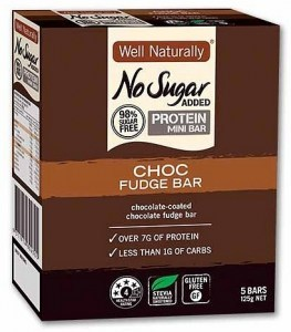 Well,naturally NAS Low Carb Protein Bar Choc Fudge 5x25g Bar