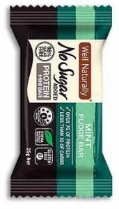 Well Naturally Mint Fudge Protein Mini Bars 25g x 20