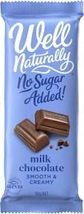 Well,naturally S/F Creamy Milk Chocolate Block 12x90g