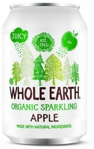 Whole Earth Organic Sparkling Drink Apple 330ml