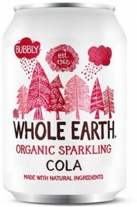 Whole Earth Organic Sparkling Drink Cola 330ml