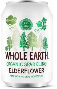 Whole Earth Organic Sparkling Drink Elderflower 330ml