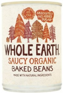 Whole Earth Organic Baked Beans  400gm