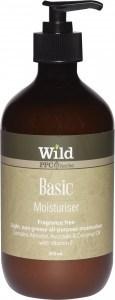 Wild Basic Moisturiser 500ml
