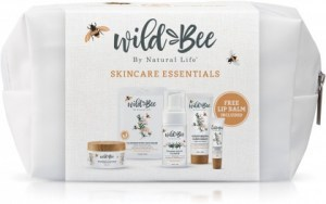 Wild Bee Gift Pack (Moisturiser, Single Face Mask, Hand Cream, Cleanser, FREE Lip balm)