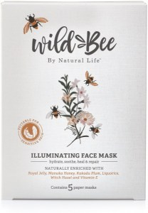 Wild Bee Illuminating Face Mask - Five Pack