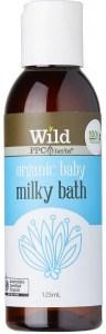Wild Organic Baby Milky Bath 125ml* +