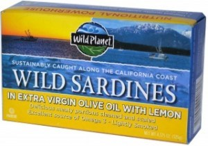 Wild Planet Sardines in Oil & Lemon 125g