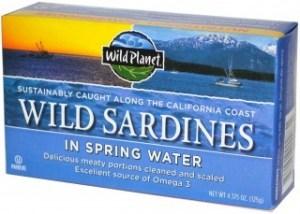 Wild Planet Sardines in Spring Water 125g