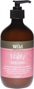 Wild Vitality Body Lotion 500ml