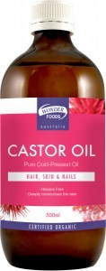 Wonderfoods Castor Oil 500ml (Org)