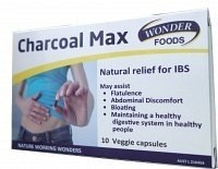 Wonderfoods Charcoal Max Veggie Capsules 10caps