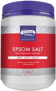 Wonderfoods Epsom Salt 750g