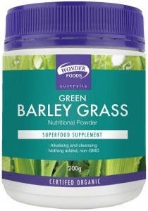 Wonderfoods Green Barley Grass 200g (Org)