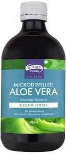 Wonderfoods Microdistilled Aloe Vera Intestinal Balance  500ml