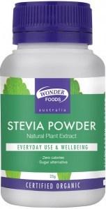 Wonderfoods Organic Herbal Stevia Powder 25gm