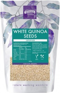 Wonderfoods Quinoa Seeds 500g White (Org)