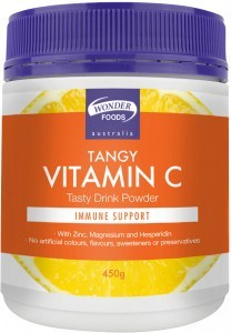 Wonderfoods Tangy Vitamin C Powder 450gm