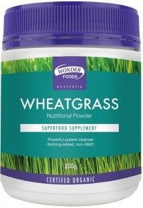 Wonderfoods Wheatgrass 200g (Org)