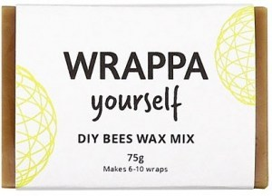 WRAPPA Yourself DIY Bees Wax Mix (Makes 6-10 wraps) 75g