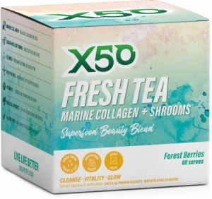 X50 Fresh Tea - Forest Berries  60 x 2.4g Sachets
