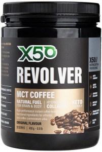 X50 Revolver MCT Coffee Original 400g