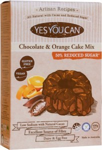 YesYouCan Artisan Chocolate & Orange Cake Mix  400g