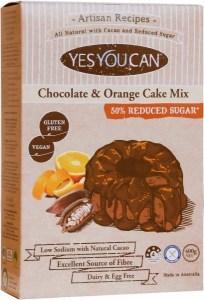 YesYouCan Artisan Chocolate & Orange Cake Mix  400g