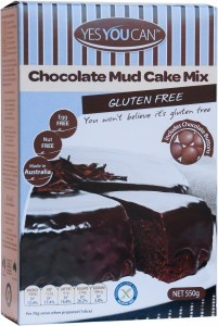 YesYouCan Chocolate Mud Cake 600g