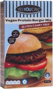YesYouCan Vegan Protein Burger Mix 200g