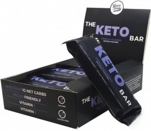 Yours Truly The Keto Bars Vanilla Almond  8x40g