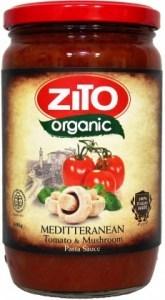 Zito Pasta Sauce Mediterranean Mushroom 690g