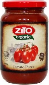 Zito Tomato Puree 350g Jar