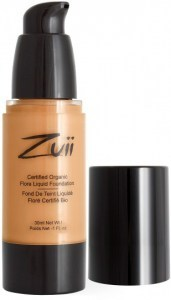 Zuii Flora Liquid Foundation Warm Olive 30ml