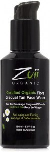Zuii Organic Gradual Tan Face Water 150ml